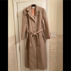 Jackets & Blazers - Cashmere and Wool Coat